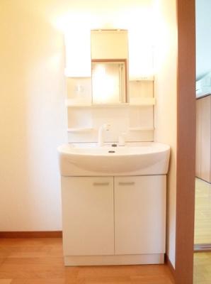 【独立洗面台】アルファルファB棟