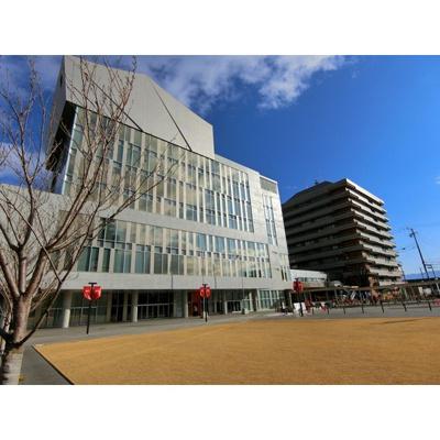 役所「長野市役所まで1871m」