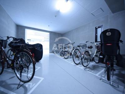 エグゼ真田山 駐輪場・バイク置場