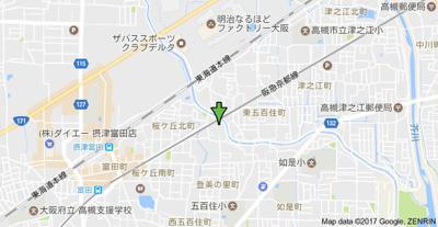 【地図】清雄ハイツ (株)Roots
