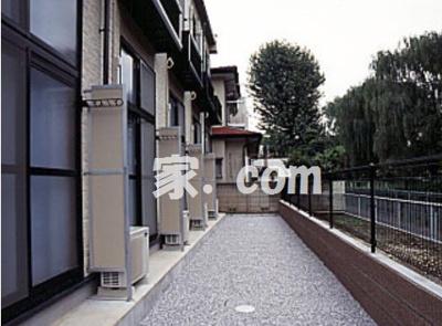 【バルコニー】レオパレスオリーブハウスⅢ(25846-201)