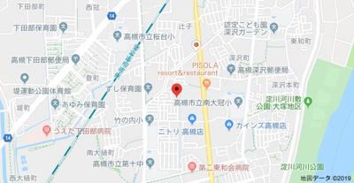【地図】竹内町貸家(中原貸家) (株)Roots