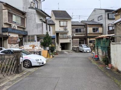 【前面道路含む現地写真】京都市伏見区日野谷寺町