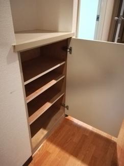靴専用の収納スペースです