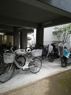 駐輪場付きの物件です