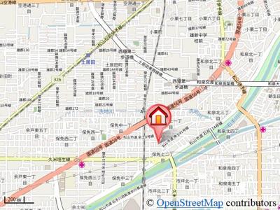 【地図】井手住宅