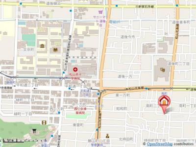 【地図】エミネンス・フルール