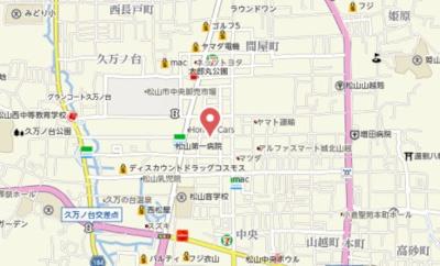 【地図】プラドール大西・