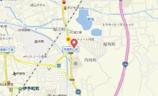 【地図】コーポ渡部