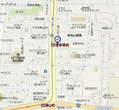 【地図】コーポ島本