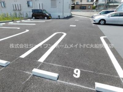 【駐車場】グリーンウッド
