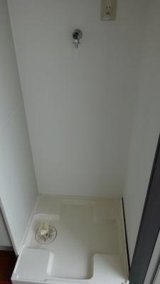 玄関先:室内洗濯機置場