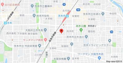 【地図】アポロマンション