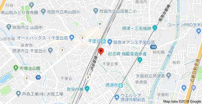 【地図】パレス愛信