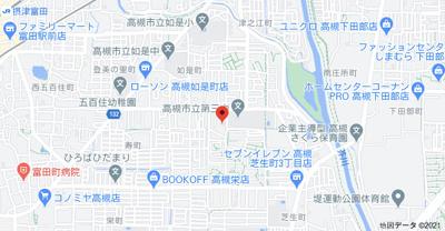 【地図】石田ハイツ (株)Roots