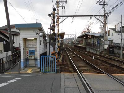 京阪松ノ馬場駅別角度