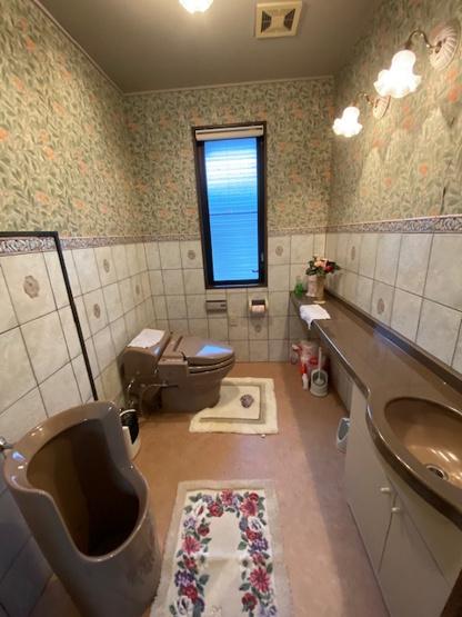 【トイレ】百合が丘町中古一戸建