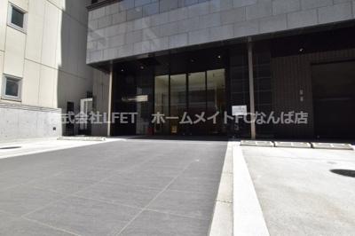 【エントランス】ノーブルコート堺筋本町