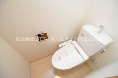 【トイレ】ノーブルコート堺筋本町