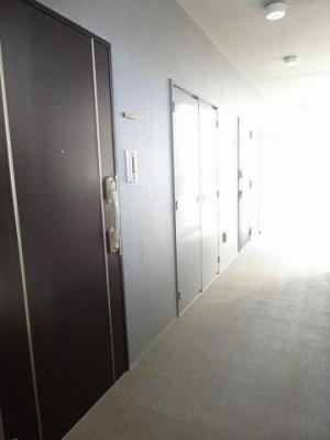 重厚でとてもシックな玄関ドアです