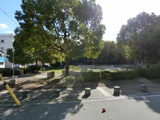 整備の行き届いた公園:徒歩1分