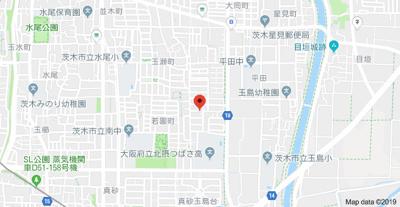 【地図】エクセル南茨木
