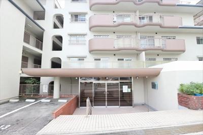 【エントランス】朝日ヶ丘レックスマンション 2号棟