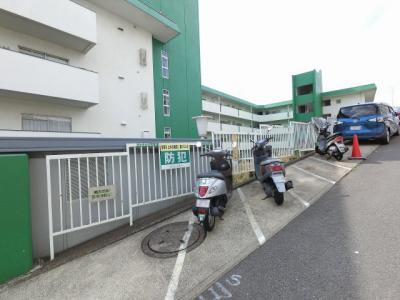 バイク置場