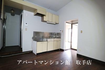 【キッチン】フラット白山第二