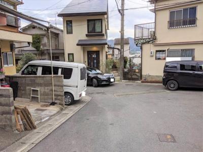 【前面道路含む現地写真】京都市山科区西野山百々町