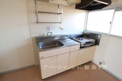 【キッチン】ムカイハラハイツA