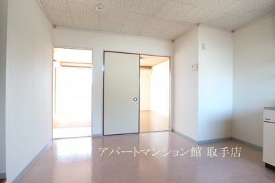 【洗面所】ムカイハラハイツA