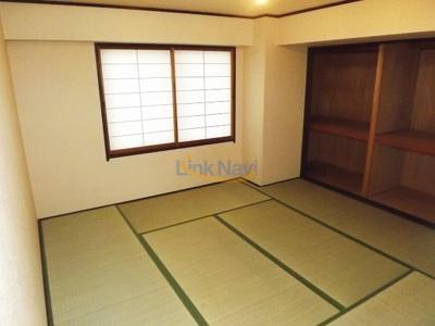 【寝室】おおきに花川サニーアパートメント
