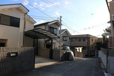 【前面道路含む現地写真】神戸市垂水区高丸3丁目 中古戸建