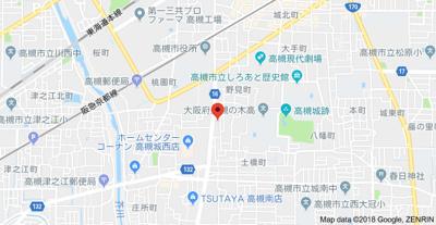 【地図】ハイツ陽光 (株)Roots