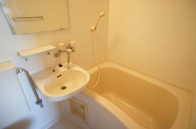 【浴室】白山ハイツ