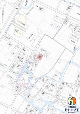 【地図】大川市北古賀字北島193番8