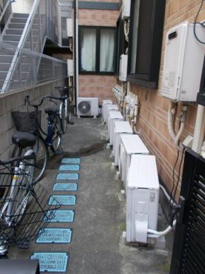 アーバンプレイス高田馬場Cの駐輪スペース☆