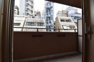 【バルコニー】麻布十番駅1分 独立洗面台 レジデンシア麻布十番