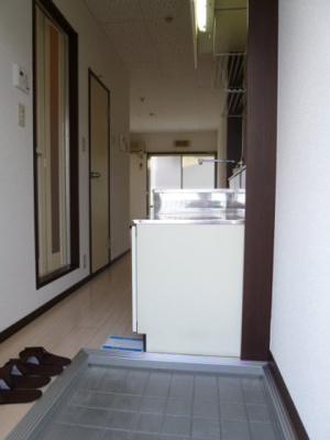 【玄関】ヴィラプレフェールⅡA棟
