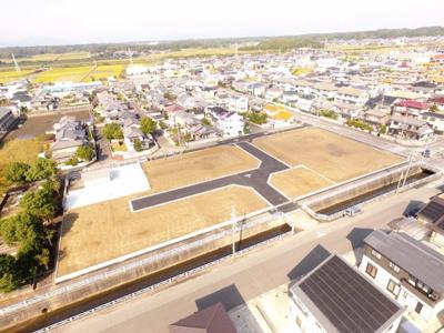 全8区画の宅地分譲 近鉄白塚駅まで徒歩約6分