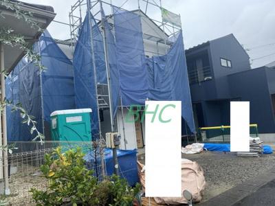 【前面道路含む現地写真】千町1丁目 分譲2区画2号地