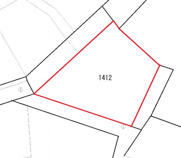 【土地図】北中城村字安谷屋 上物付土地