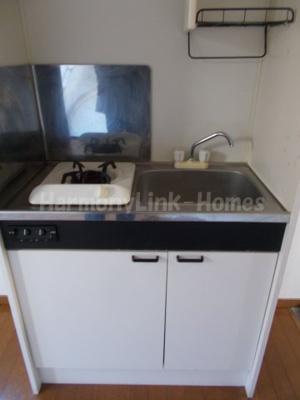 ライフピア目白台Ⅱのコンパクトなキッチンで掃除もラクラク