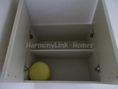 ライフピア目白台Ⅱの吊戸棚(下駄箱としても使用可能です)☆