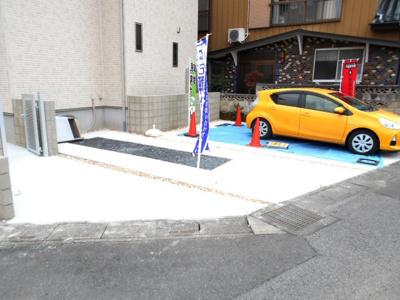 駐車場があります。駐車3台並列。車種によります。価格変更です。年末年始対応します。