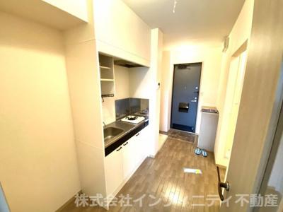 キッチン横スペースあり!し