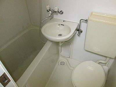 【浴室】本宮マンション