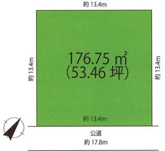 敷地176.75㎡(53.46坪)