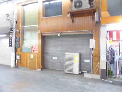【外観】元魚町 貸住居付き店舗(飲食可)